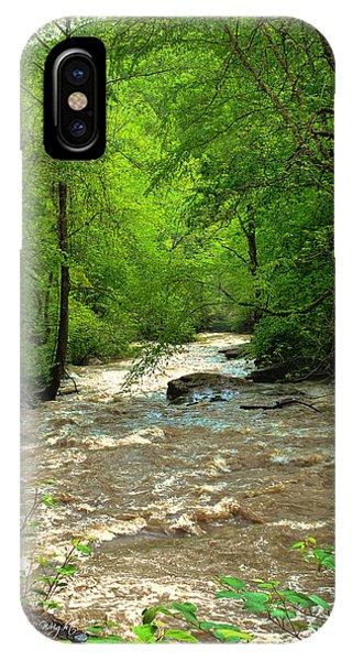 Raging Waters - West Virginia Backroad IPhone Case