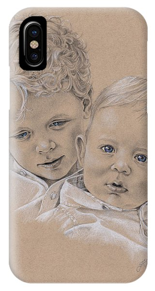 Raife And Harris IPhone Case