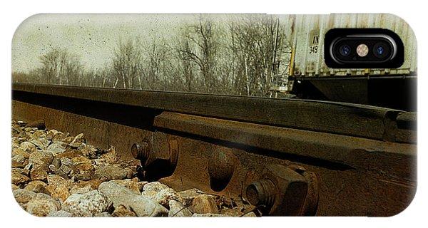 Railroad Bolts IPhone Case