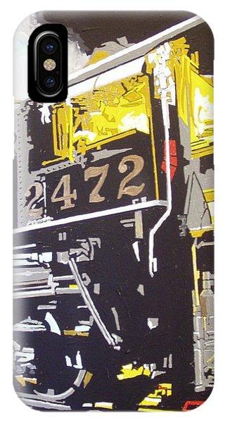 Railroad Museum Phone Case by Paul Guyer