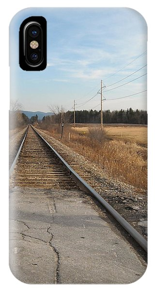 Rails And Lines IPhone Case