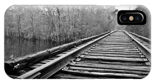 Rails Over Water IPhone Case