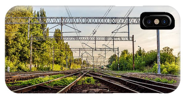 Railway To Nowhere IPhone Case