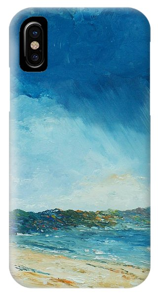 Rain A Comin IPhone Case