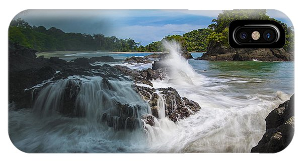 Rain And Shine At Manuel Antonio Beach IPhone Case