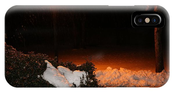 Rain And Snow IPhone Case