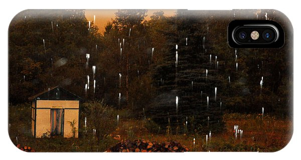 Rain In The Adirondacks IPhone Case