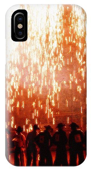 Rain Of Fire IPhone Case