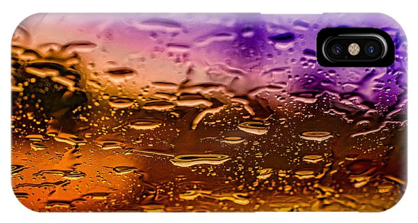 Rain On Windshield IPhone Case