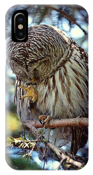 Rain Owl IPhone Case