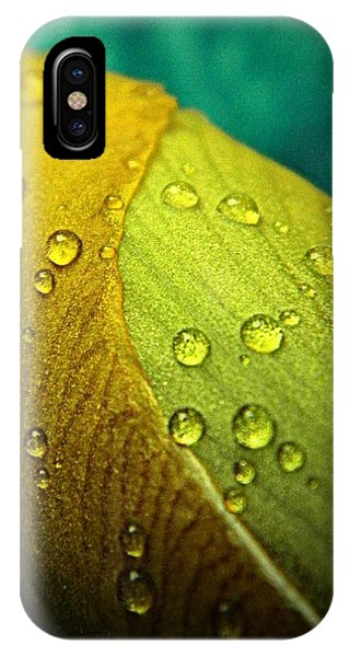 Rain Wrapped IPhone Case