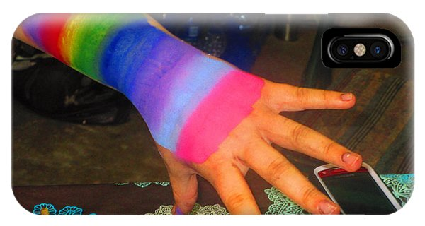 Rainbow Arm IPhone Case