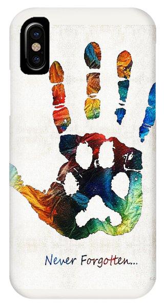 Rainbow Bridge Art - Never Forgotten - By Sharon Cummings IPhone Case