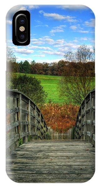 Rainbow Bridge Brasstown Nc IPhone Case