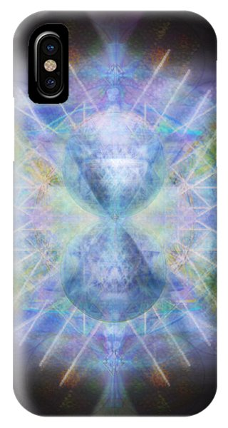 Rainbow Chalice Cell Isphere Matrix IPhone Case