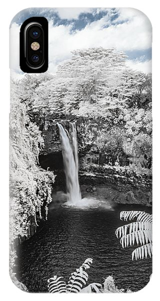 Rainbow Falls In Infrared 1 IPhone Case