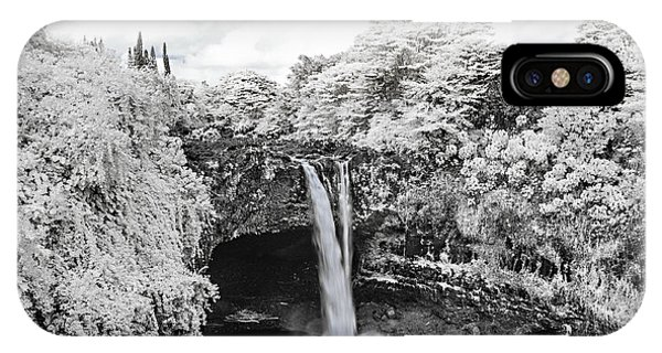 Rainbow Falls In Infrared 2 IPhone Case