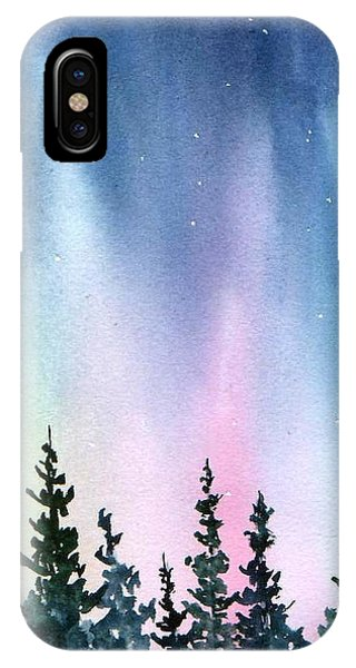 Rainbow Night IPhone Case