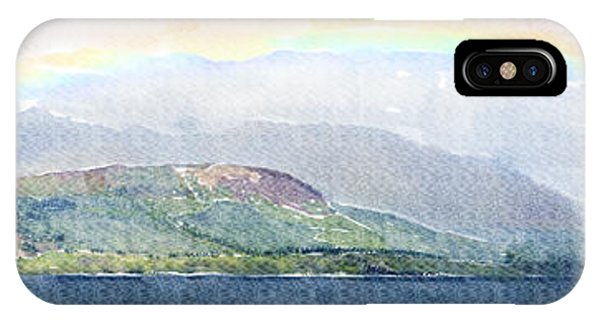 Rainbow Over The Isle Of Arran IPhone Case