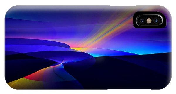 Rainbow Pathway IPhone Case
