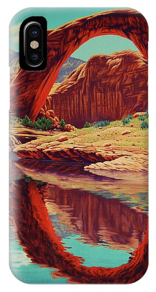 Rainbow Reflection IPhone Case