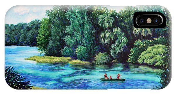 Rainbow River At Rainbow Springs Florida IPhone Case