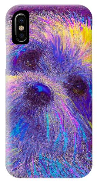 Rainbow Shih Tzu IPhone Case
