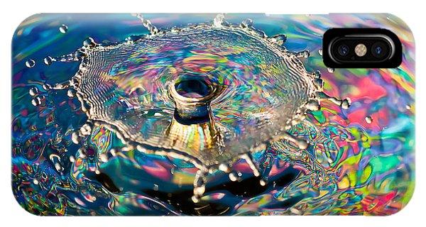 Rainbow Splash IPhone Case