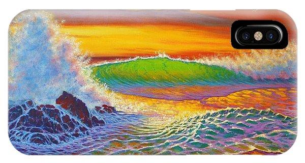 Rainbow Sunset IPhone Case