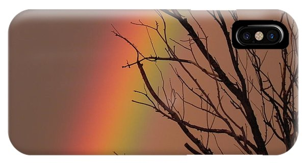 iPhone Case - Rainbow Tree by Adrienne Petterson