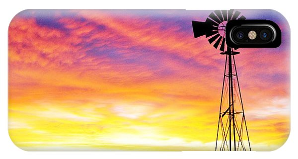 Rainbow Windmill IPhone Case