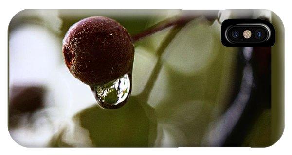 Raindrop Reflection 1 IPhone Case