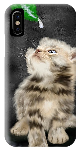 Raindrops Keep Fallin' On My Nose IPhone Case