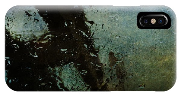 Rainful Abstract IPhone Case