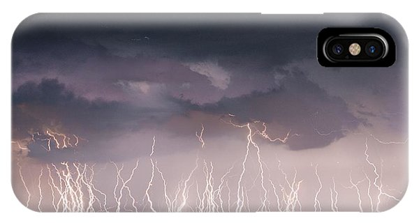 Raining Electricity IPhone Case