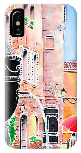 iPhone Case - Raining In St-paul De Vence by Hisayo Ohta