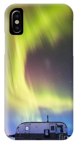 Raining Lights On Rainy Lake IPhone Case