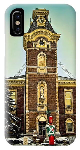 Raintree County Courthouse IPhone Case