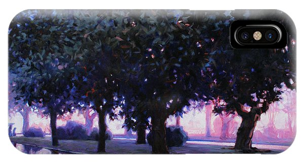 Rainy Boulevard IPhone Case
