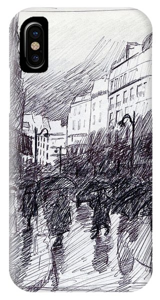 Rainy Day Paris IPhone Case