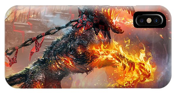 Rakdos Ragemutt IPhone Case
