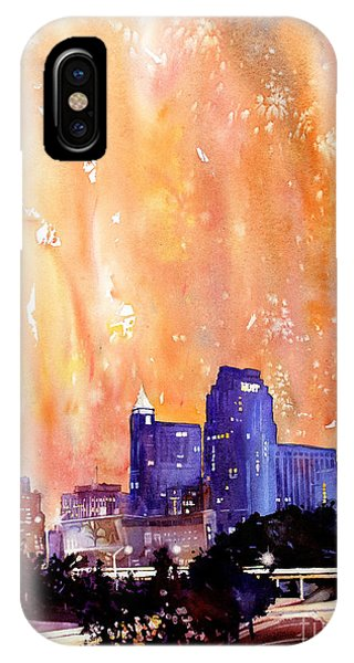 Raligh Skyline Sunset IPhone Case