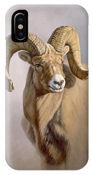 Ram Portrait Phone Case by Paul Krapf