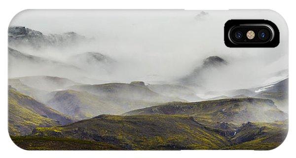 Ramble Thru The Mountains I IPhone Case