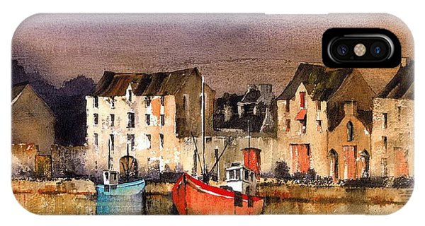 Ramelton Dusk  Donegal IPhone Case