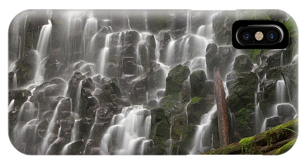 Basalt iPhone Case - Ramona Falls In Clackamas County, Oregon by William Sutton