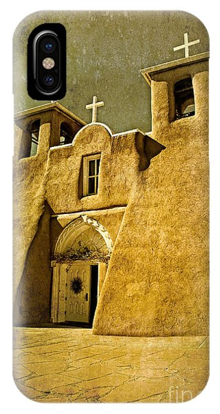 Ranchos Church In Old Gold IPhone Case