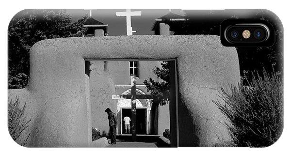Ranchos De Taos  2 IPhone Case
