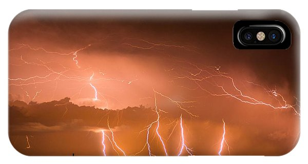 Randall Lightning IPhone Case