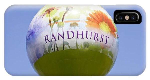 Mt. Prospect iPhone Case - Randhurst Water Tower by Patty Colabuono